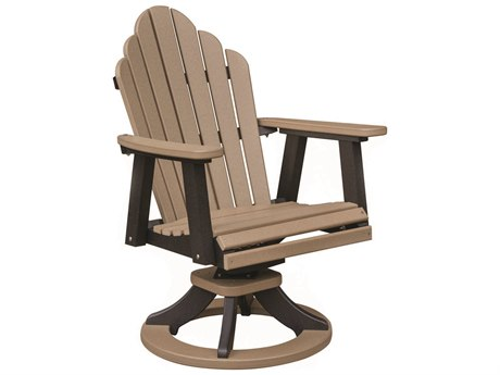 Berlin Gardens Cozi-Back Recycled Plastic Swivel Rocker Dining Chair
