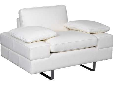 Bellini Lindo White Club Chair