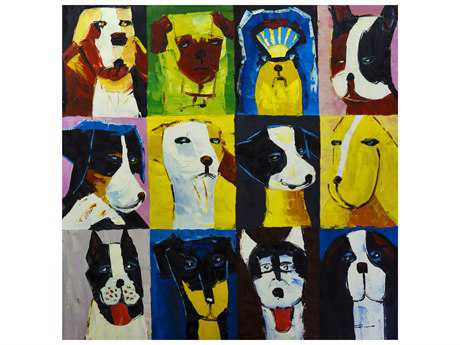 Bromi Design Dogs-1 Wall Art