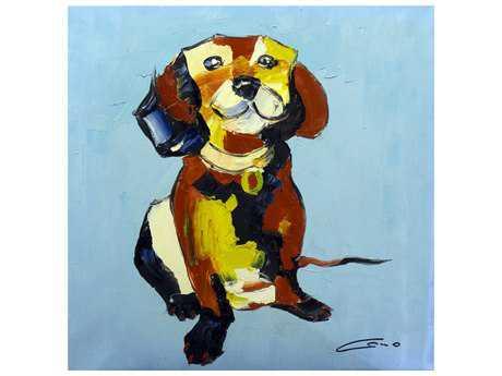 Bromi Design Happy Dog Wall Art