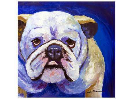 Bromi Design Bulldog Wall Art