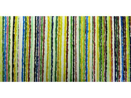 Bromi Design Rainbow Vines Wall Art