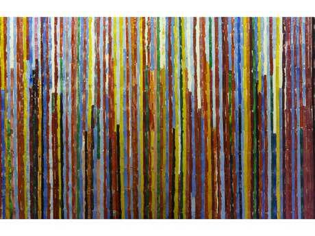 Bromi Design rainbow Vines-2 Wall Art