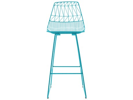 Bend Goods Outdoor Lucy Peacock Metal Bar Stool (Sold in 2) BOOBARLUCYPC