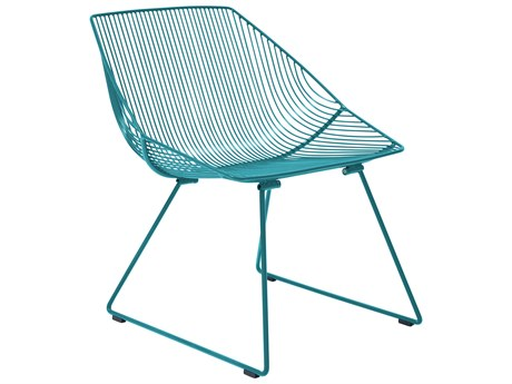 Bend Goods Outdoor Bunny Peacock Metal Lounge Chair PatioLiving
