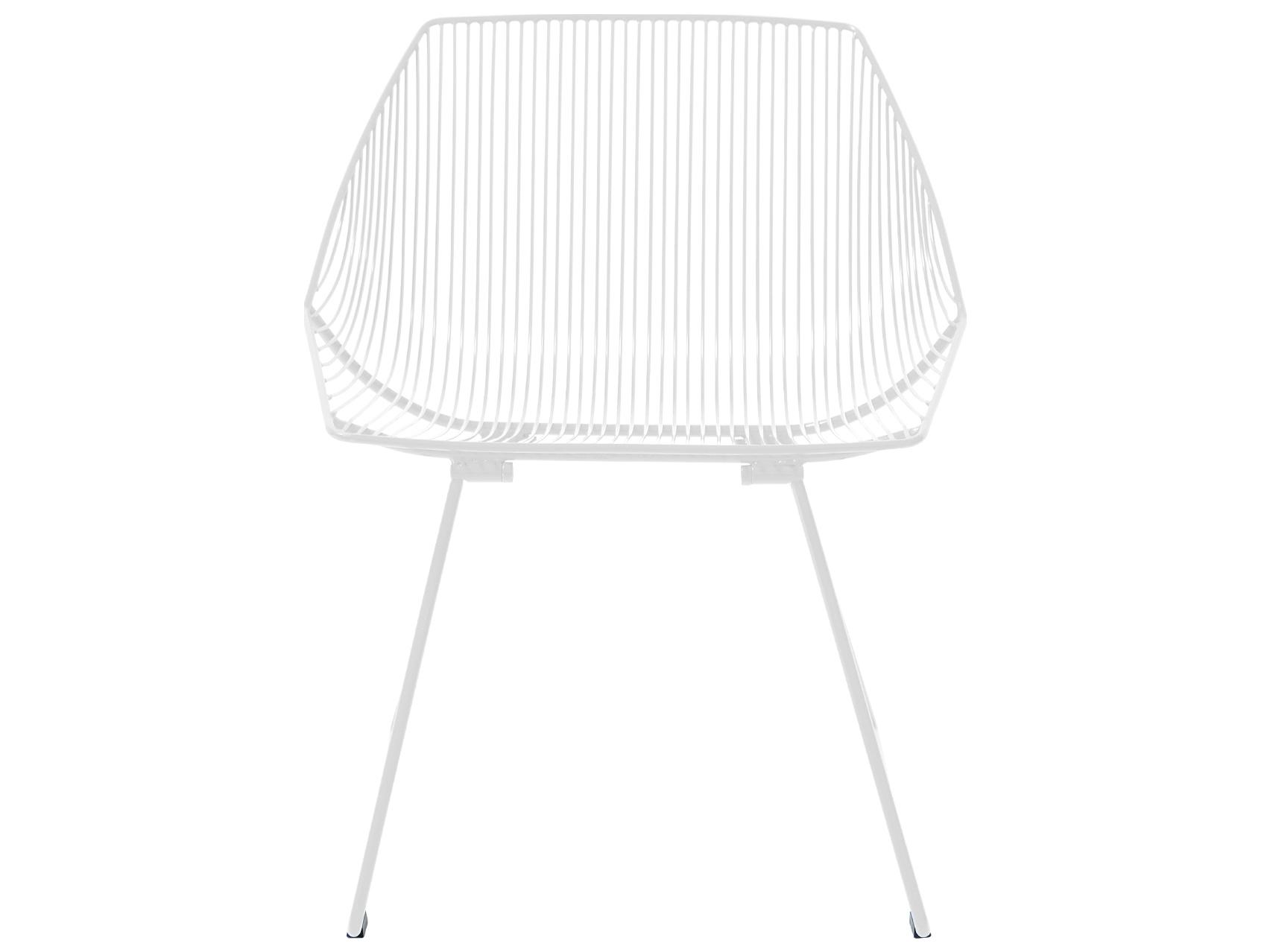 Prime Bend Goods Outdoor Bunny White Metal Lounge Chair Creativecarmelina Interior Chair Design Creativecarmelinacom