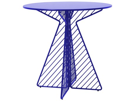 Bend Goods Outdoor Cafe 30'' Wide Round Bistro Table PatioLiving