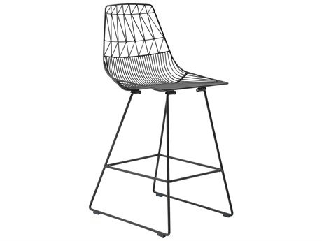 Bend Goods Outdoor Lucy Black Metal Counter Stool (Sold in 2) BOOCOUNTERLUCYBLK