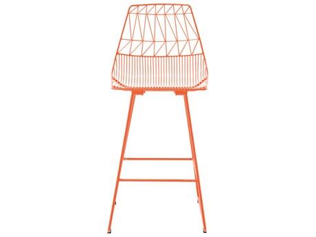 Bend Goods Outdoor Lucy Orange Metal Counter Stool (Sold in 2) BOOCOUNTERLUCYOR