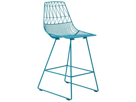 Bend Goods Outdoor Lucy Peacock Metal Counter Stool (Sold in 2) BOOCOUNTERLUCYPC