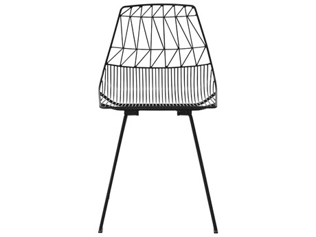 Bend Goods Outdoor Lucy Black Metal Dining Chair (Sold in 2) BOOLUCYBLK