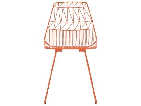 Bend Goods Outdoor Lucy Orange Metal Dining Chair (Sold in 2) BOOLUCYOR