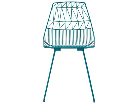 Bend Goods Outdoor Lucy Peacock Metal Dining Chair (Sold in 2) BOOLUCYPC