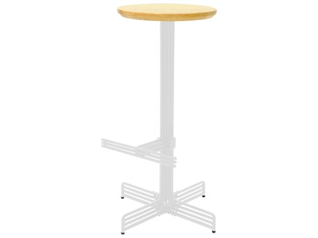 Bend Goods Outdoor Stick White Wood Bar Stool PatioLiving