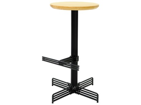 Bend Goods Outdoor Stick Black Wood Counter Stool PatioLiving