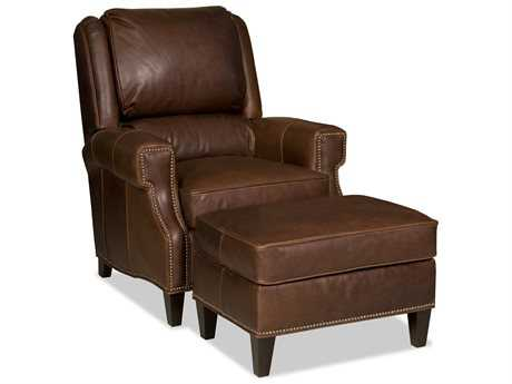 Bradington Young Milo Club Chair with Ottoman