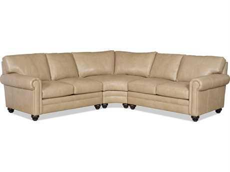 Bradington Young Daire Sectional Sofa 8-Way Tie