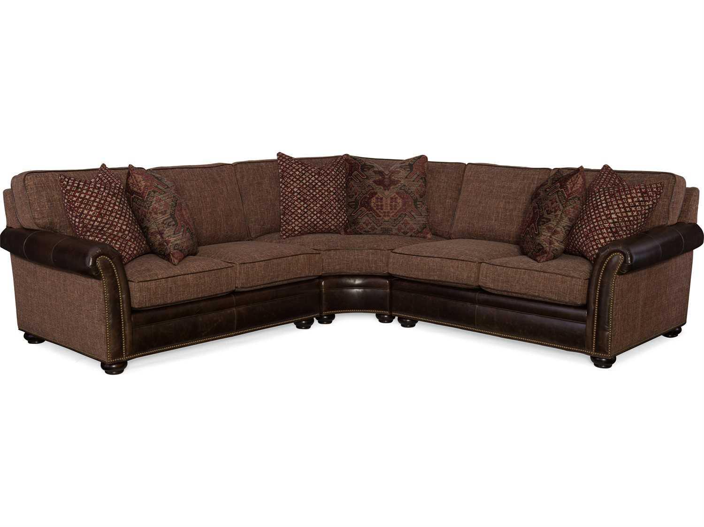 bradington young lawson sectional sofa brd227lawsonsectional With lawson sectional sofa dimensions