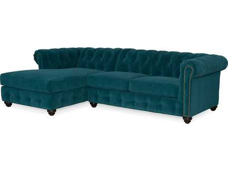 Bradington Young Wellington Sectional Sofa with Left Arm Facing Chaise