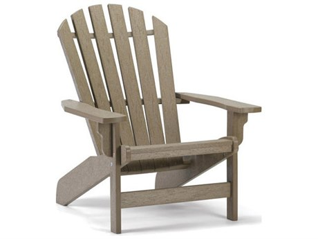 Breezesta Coastal Recycled Plastic Adirondack Chair PatioLiving