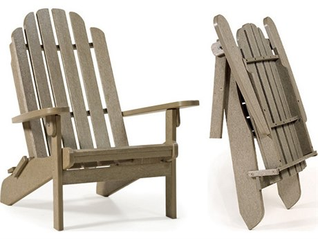 Breezesta Adirondack Recycled Plastic Folding Adirondack Chair