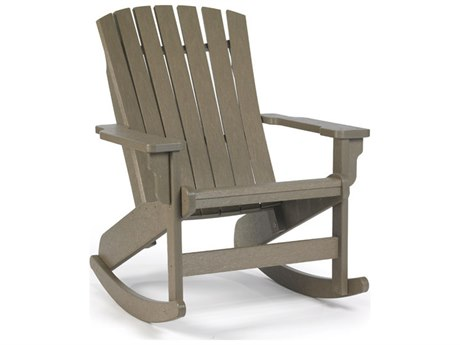 Breezesta Fanback Adirondack Rocker Chair Replacement Cushions PatioLiving