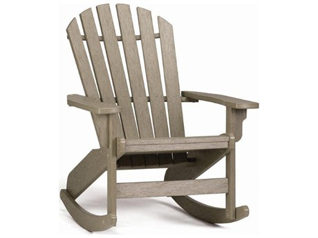 Breezesta Coastal Recycled Plastic Adirondack Rocker Chair PatioLiving