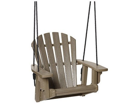 Breezesta Coastal Recycled Plastic Single Swing PatioLiving