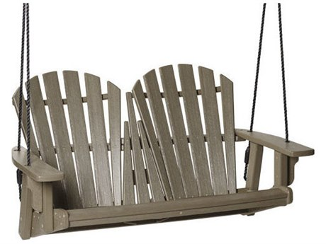 Breezesta Coastal Recycled Plastic Double Swing PatioLiving