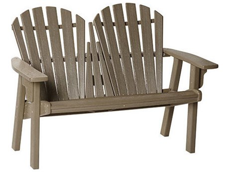 Breezesta Coastal Recycled Plastic Bench PatioLiving