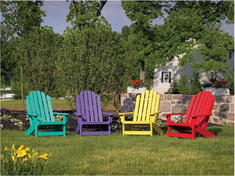 Breezesta Adirondack Recycled Plastic Lounge Set PatioLiving