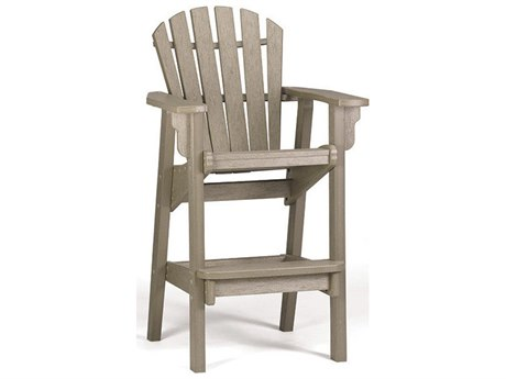 Breezesta Coastal Recycled Plastic Bar Chair PatioLiving