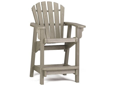 Breezesta Coastal Recycled Plastic Counter Chair PatioLiving