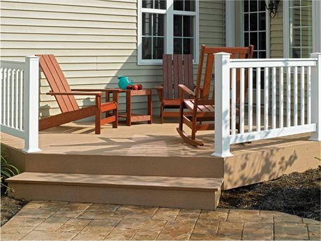 Breezesta Basics Recycled Plastic Adirondack Set