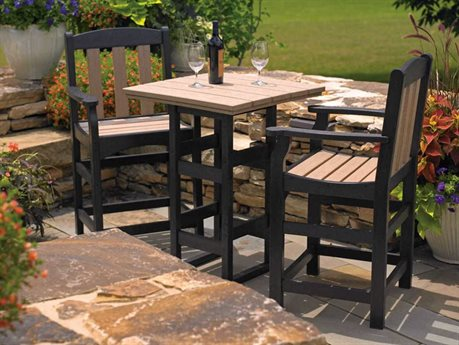 Breezesta Counter Height Recycled Plastic Dining Set PatioLiving