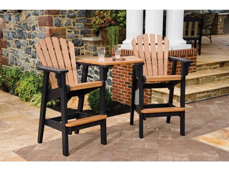 Breezesta Coastal Recycled Plastic Bar Tete-A-Tete Set PatioLiving