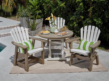 Breezesta Coastal Recycled Plastic Dining Set PatioLiving