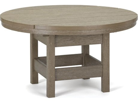Breezesta Recycled Plastic 32''Wide Round End Table