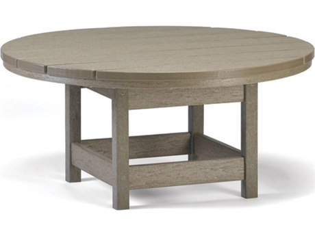 Breezesta Recycled Plastic 36''Wide Round Chat Table