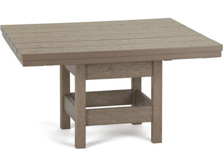 Breezesta Recycled Plastic 32''Wide Square Chat Table