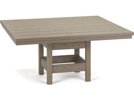 Breezesta Recycled Plastic 36''Wide Square Chat Table