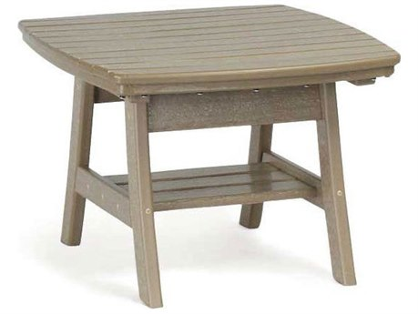 Breezesta Adirondack Recycled Plastic Contemporary 22''Wide Square Accent Table