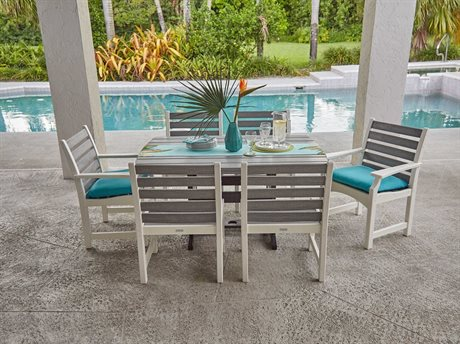 Piedmont Recycled Plastic Dining Set
