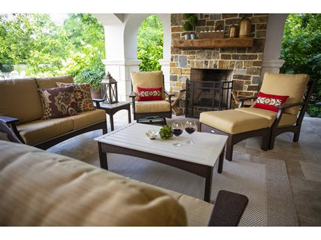 Breezesta Piedmont Recycled Plastic Lounge Set PatioLiving