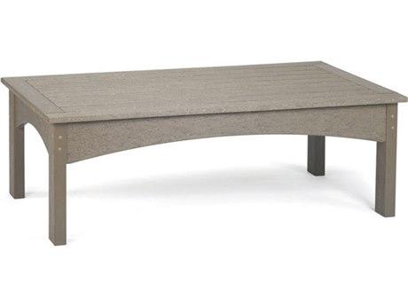 Breezesta Piedmont Recycled Plastic 48''W x 27''D Rectangular Coffee Table