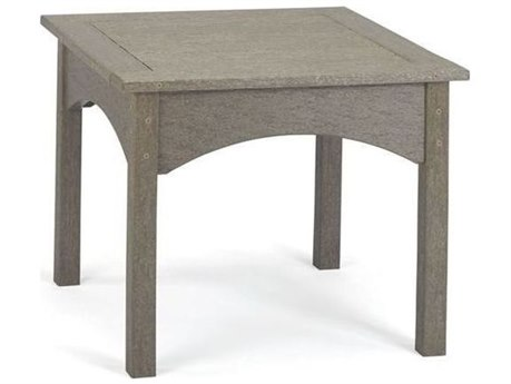 Breezesta Piedmont Recycled Plastic 22''Wide Square End Table