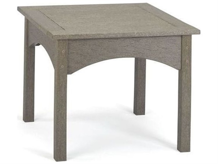 Breezesta Piedmont Recycled Plastic 22''Wide Square End Table PatioLiving
