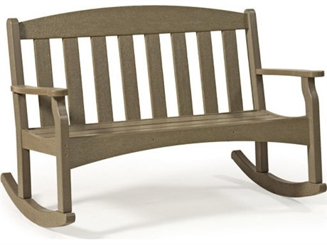 Breezesta Skyline 36 Inch Rocking Bench Replacement Cushions PatioLiving