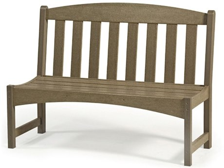 Breezesta Skyline 48 Inch Park Bench Replacement Cushions PatioLiving