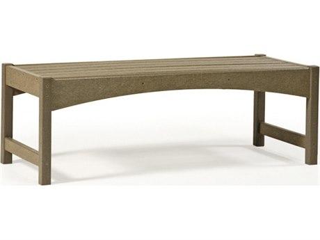 Breezesta Skyline Recycled Plastic 36''W x 19''D Rectangular Coffee Table